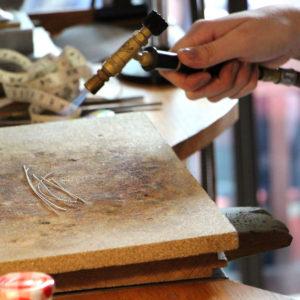 Atelier recuire métal Robin Paris